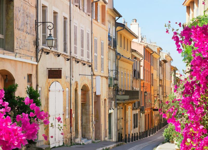 Voyage en groupe à Aix-en-Provence