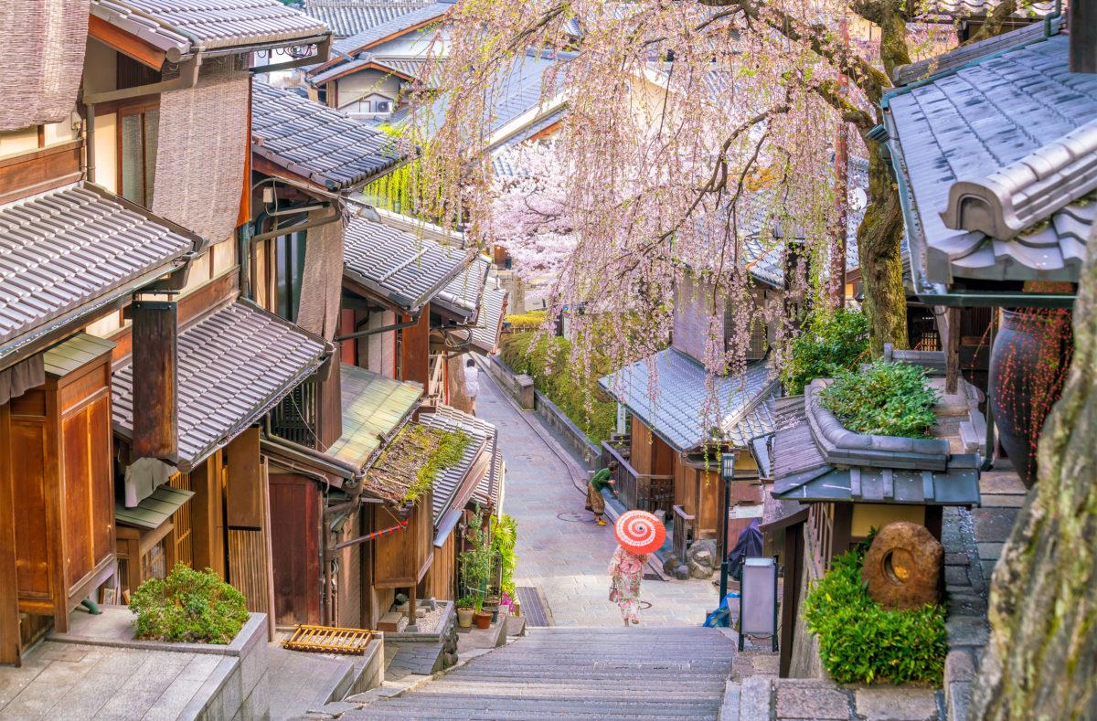 La vieille ville de Kyoto