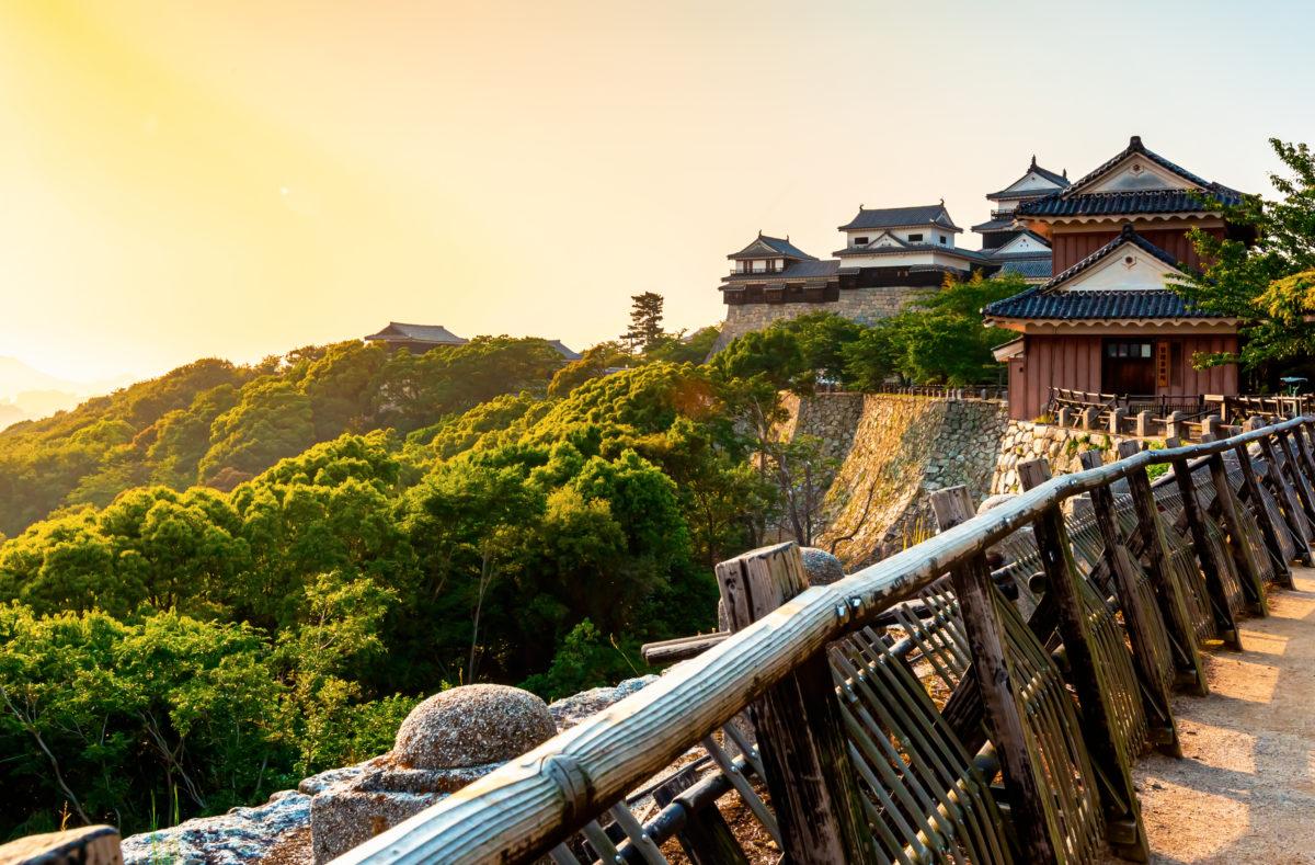 Ancien château de Matsuyama, Japon