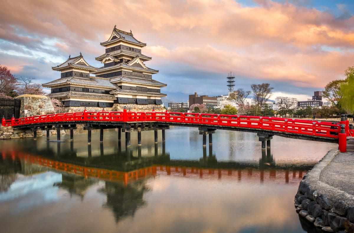 Château de Matsumoto, premier château historique japonais dans l'est de Honshu