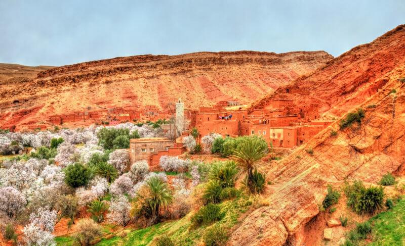 Voyage en groupe au Maroc dans la Vallée d'Ounila