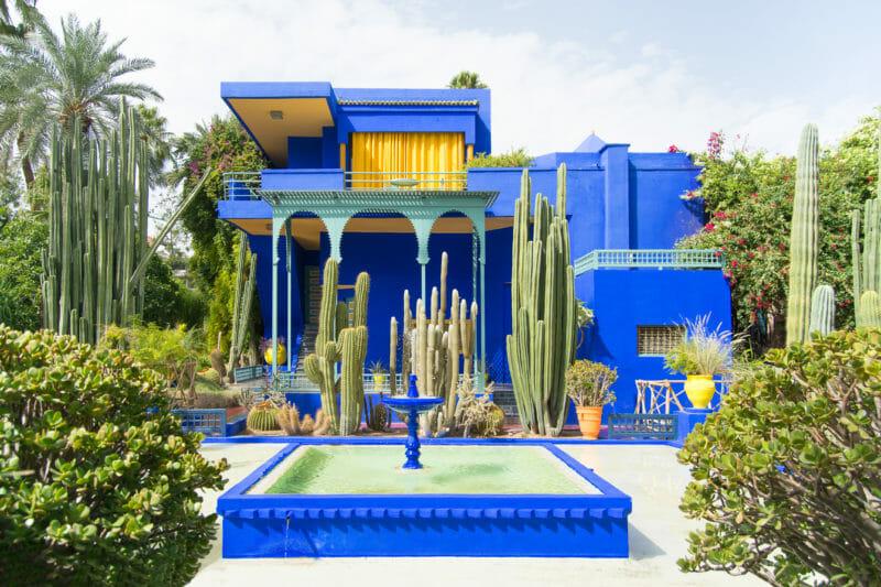 Visiter en groupe le Jardin Majorelle à Marrakech