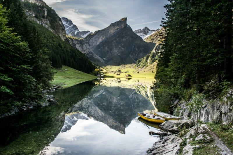 Voyage en groupe au Lac de Seealp en Suisse orientale