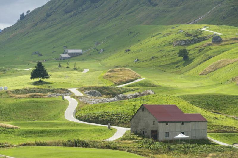 Parcours de golf à Andermatt
