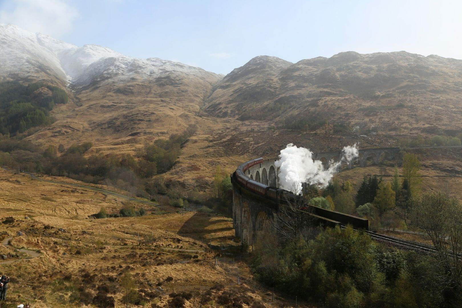 Train mythique Royal Scotsman
