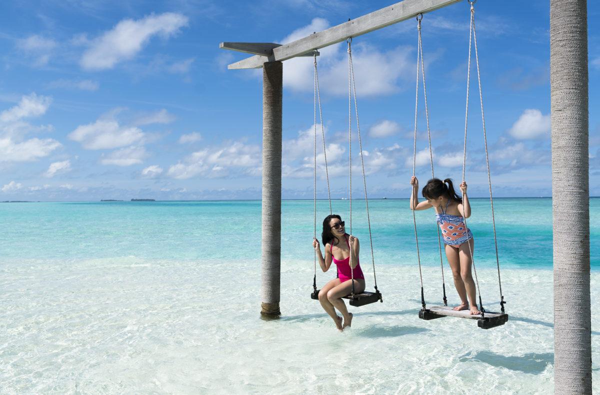 Anantara Dhigu Maldives Resort en famille