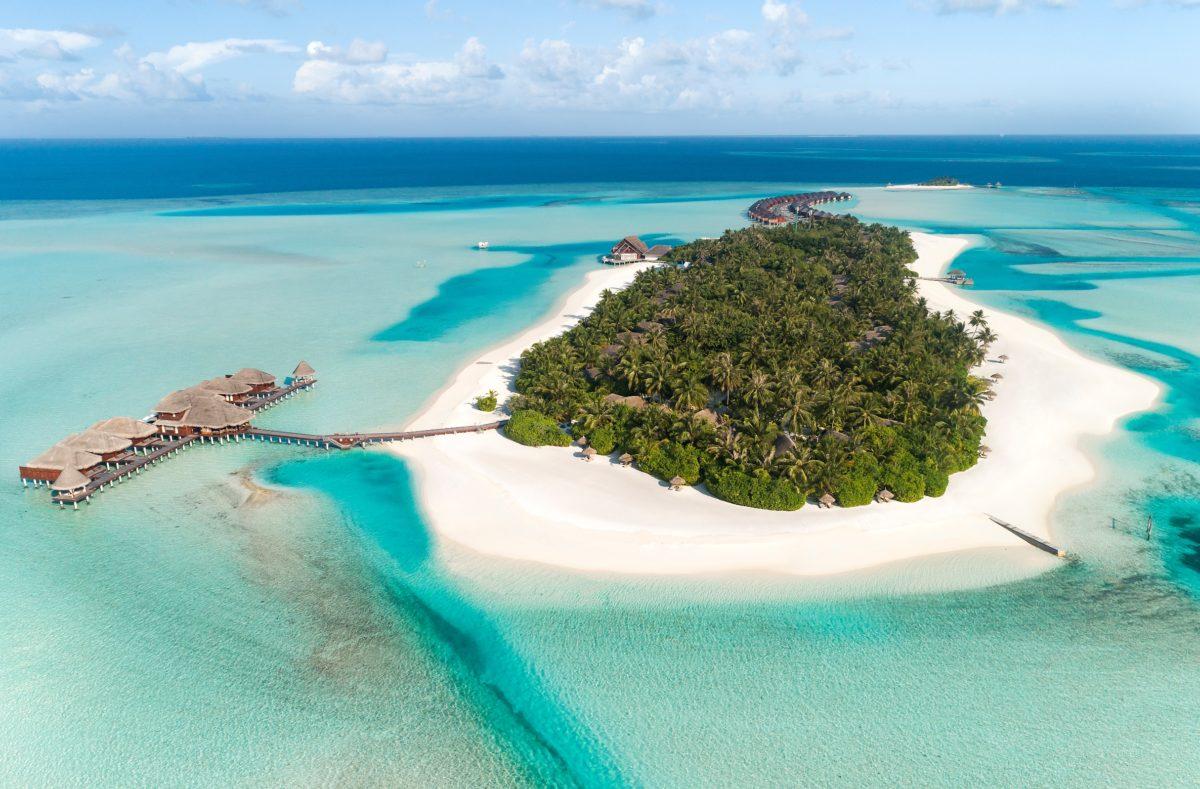 Ile hôtel Anantara Dhigu Maldives Resort