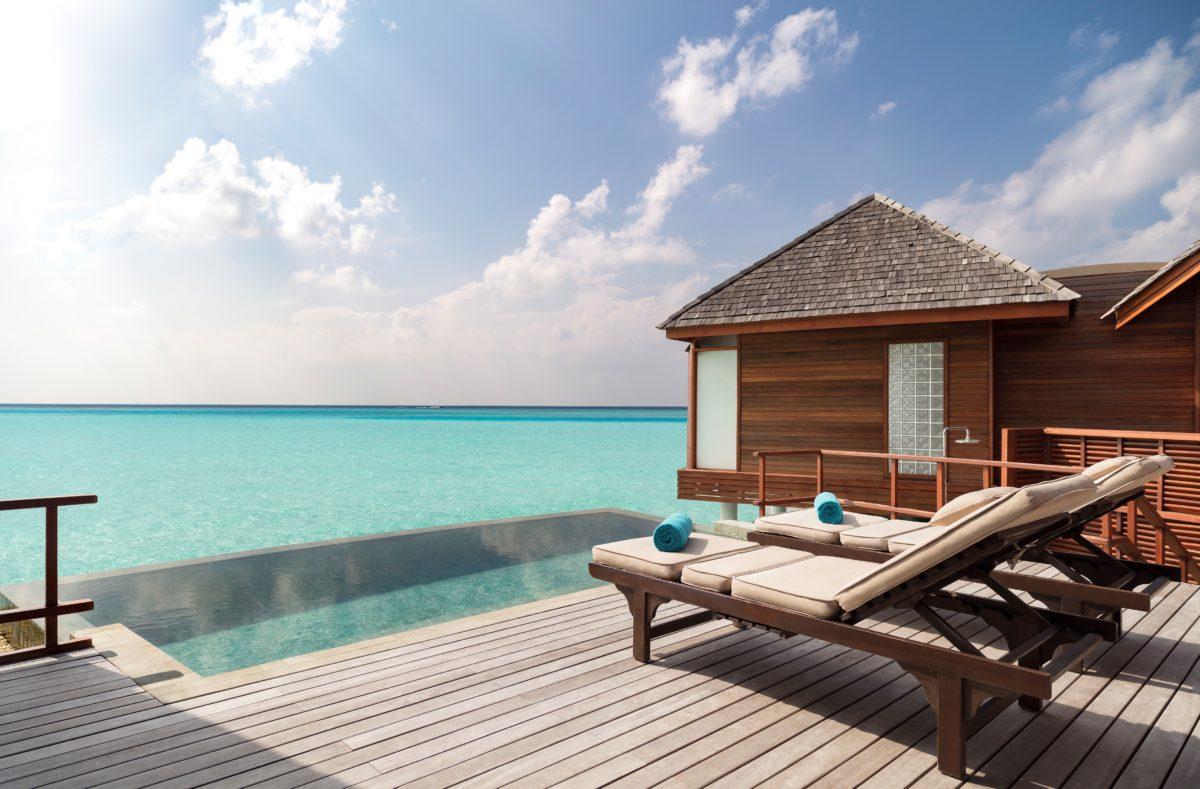 Terrasse pilotis Anantara Dhigu Maldives Resort