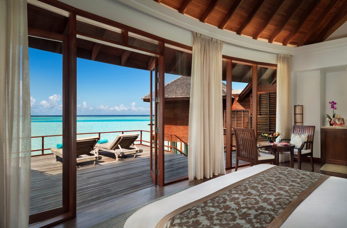 Chambre pilotis Anantara Dhigu Maldives Resort