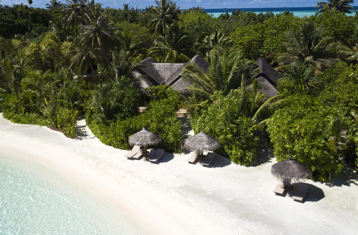 Bungalows sur la plage Anantara Dhigu Maldives Resort