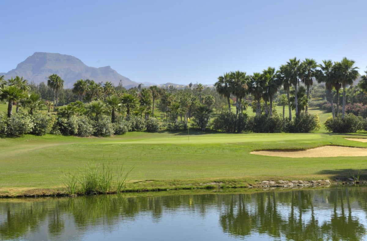 Las Americacs Golf, 3rd Green