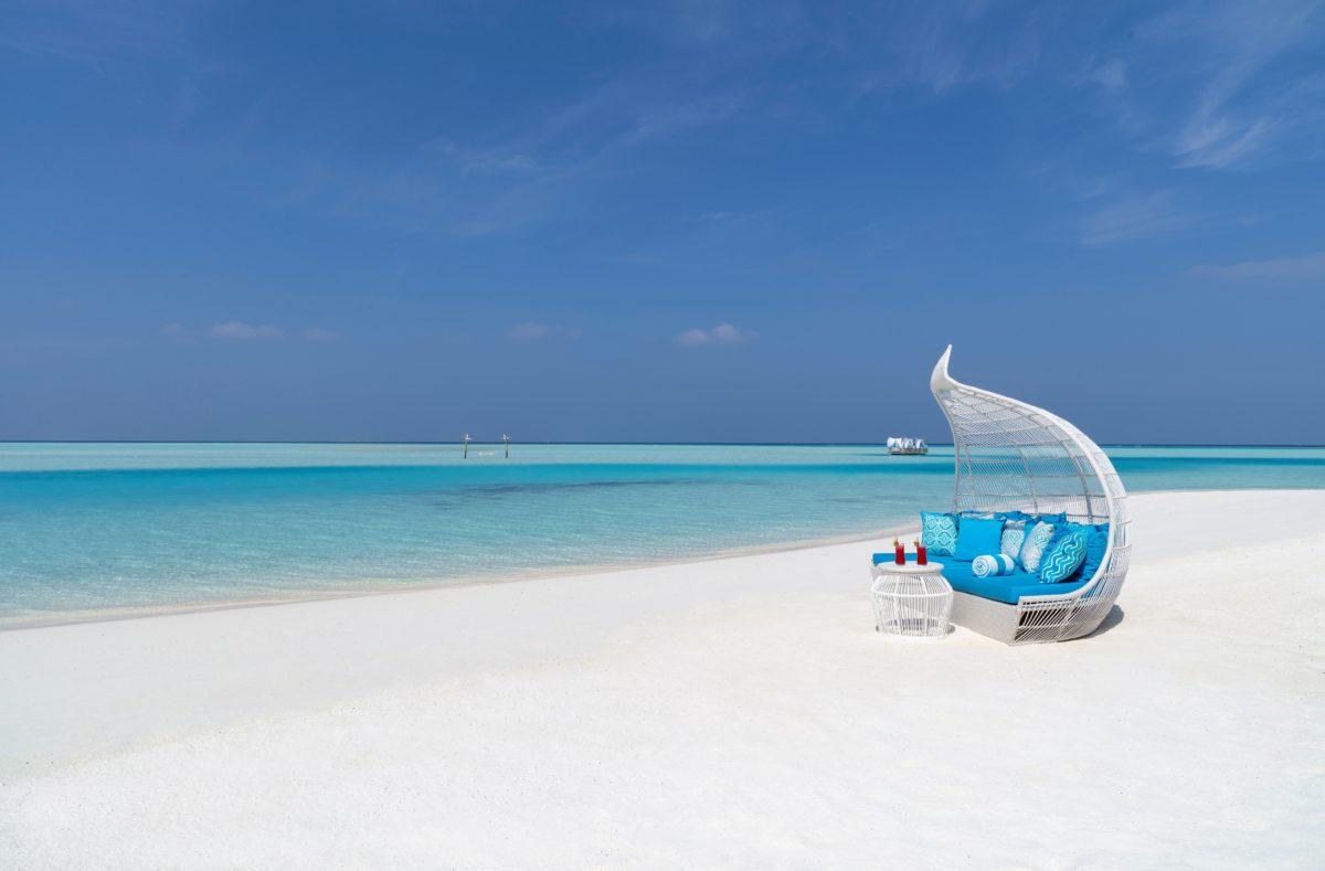 Plage de rêve Anantara Dhigu Maldives Resort