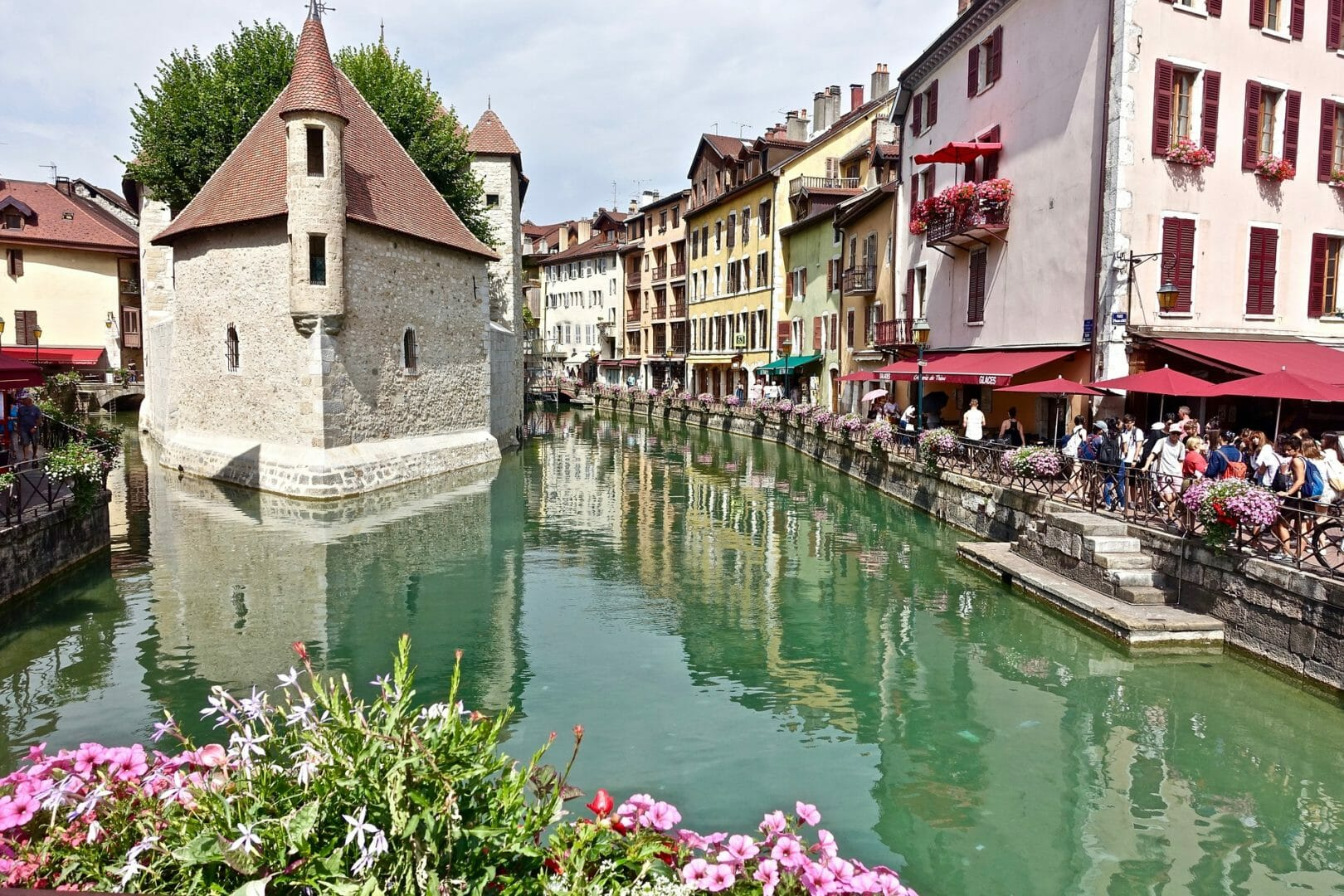 Annecy canaux - Voyager sans avion