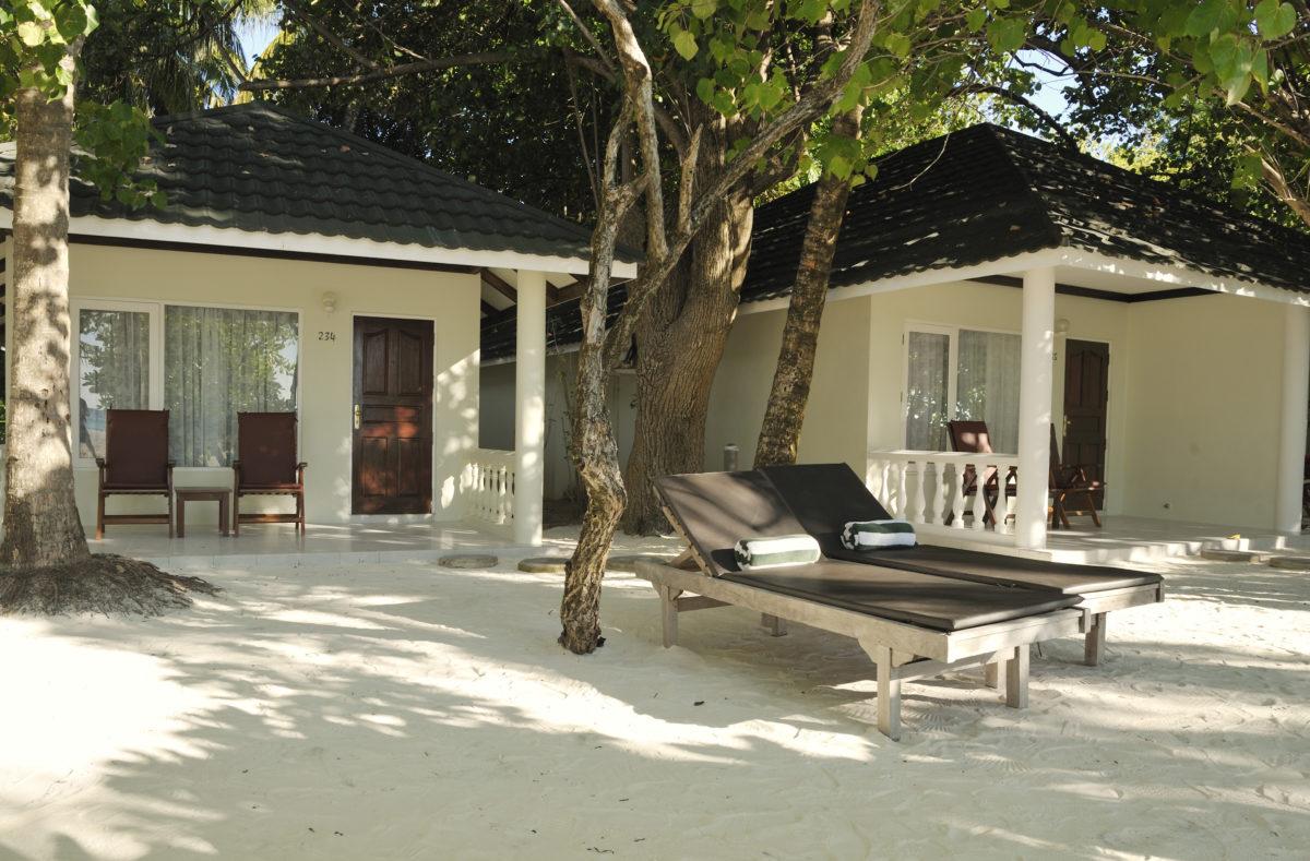 Extérieur Beach Villa Paradise Island Resort Maldives