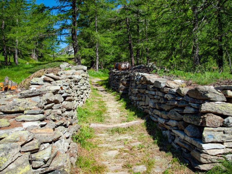 Sentier muletier de Stockalper