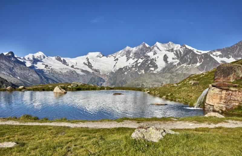 Voyage en groupe à Saas-Fee Kreuzbodensee Haut-Valais