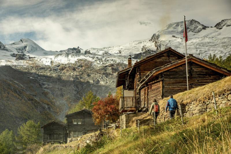 Visiter en groupe Hannigalp Haut-Valais