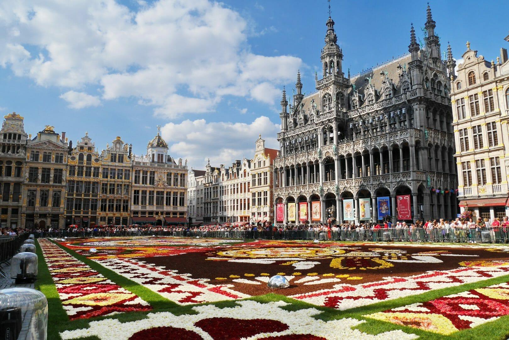 Bruxelles - Voyager sans avion