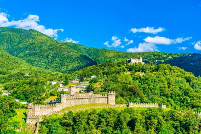 Visiter les châteaux de Bellinzone UNESCO