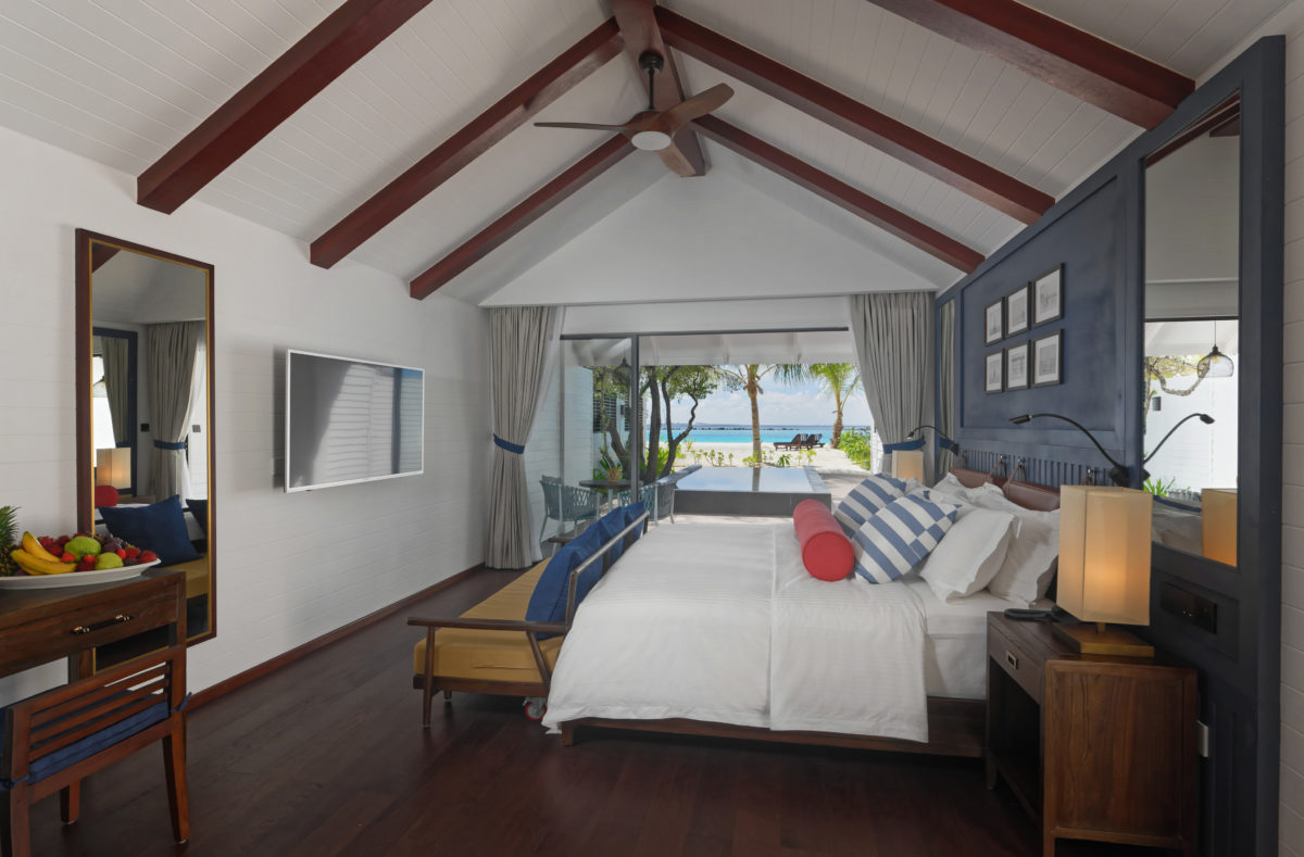 Beach Villa avec piscine Paradise Island Resort Maldives