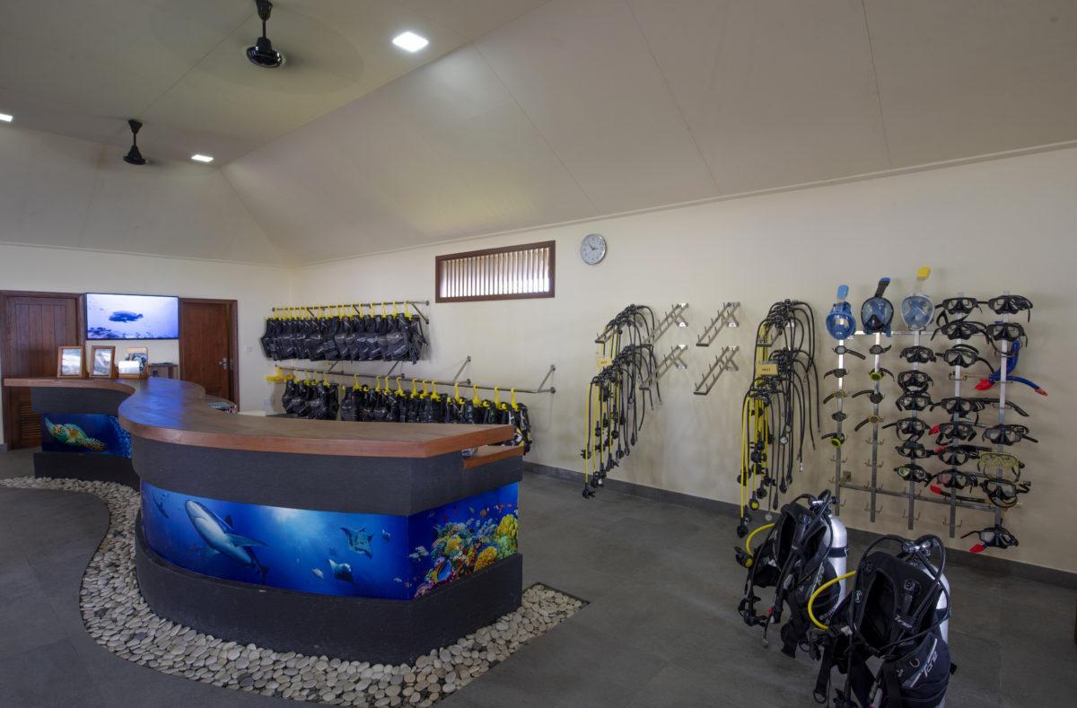 Centre de plongée Paradise Island Resort Maldives