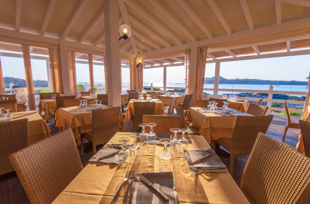 Salle de restaurant Club Cala Blu Sardaigne