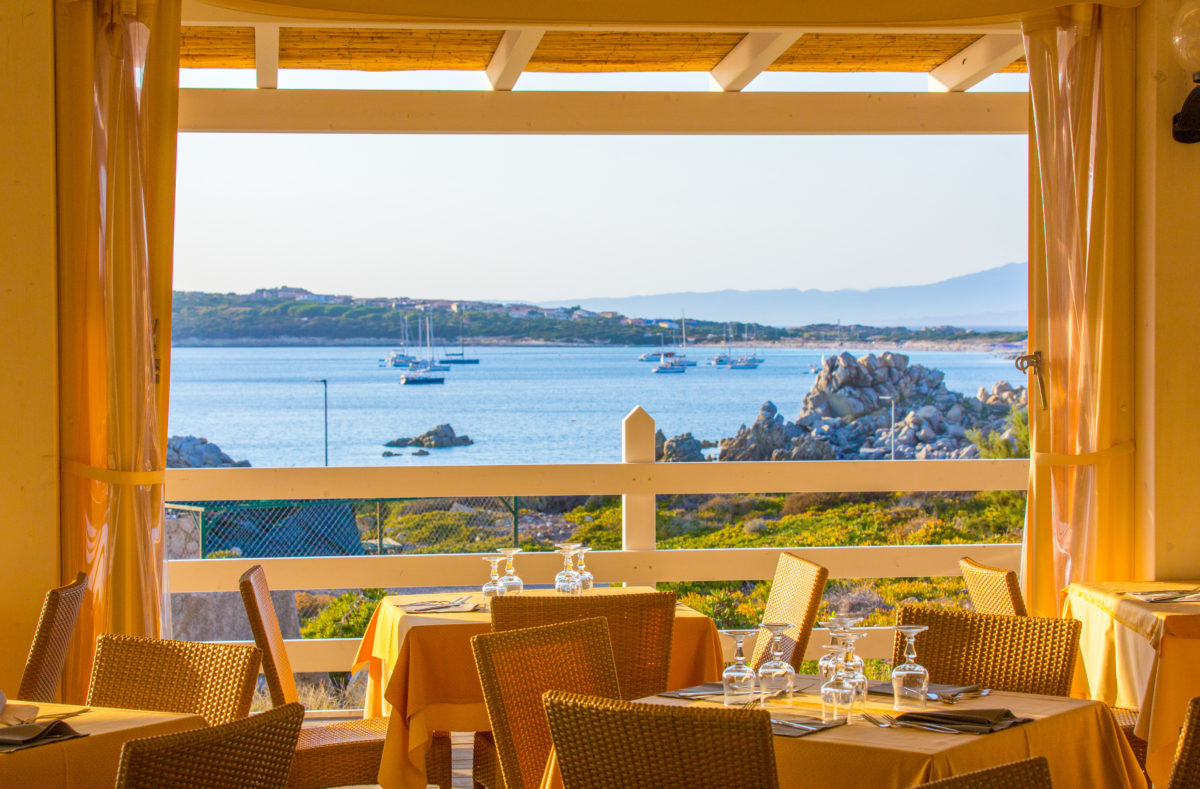 Restaurant Club Cala Blu Sardaigne