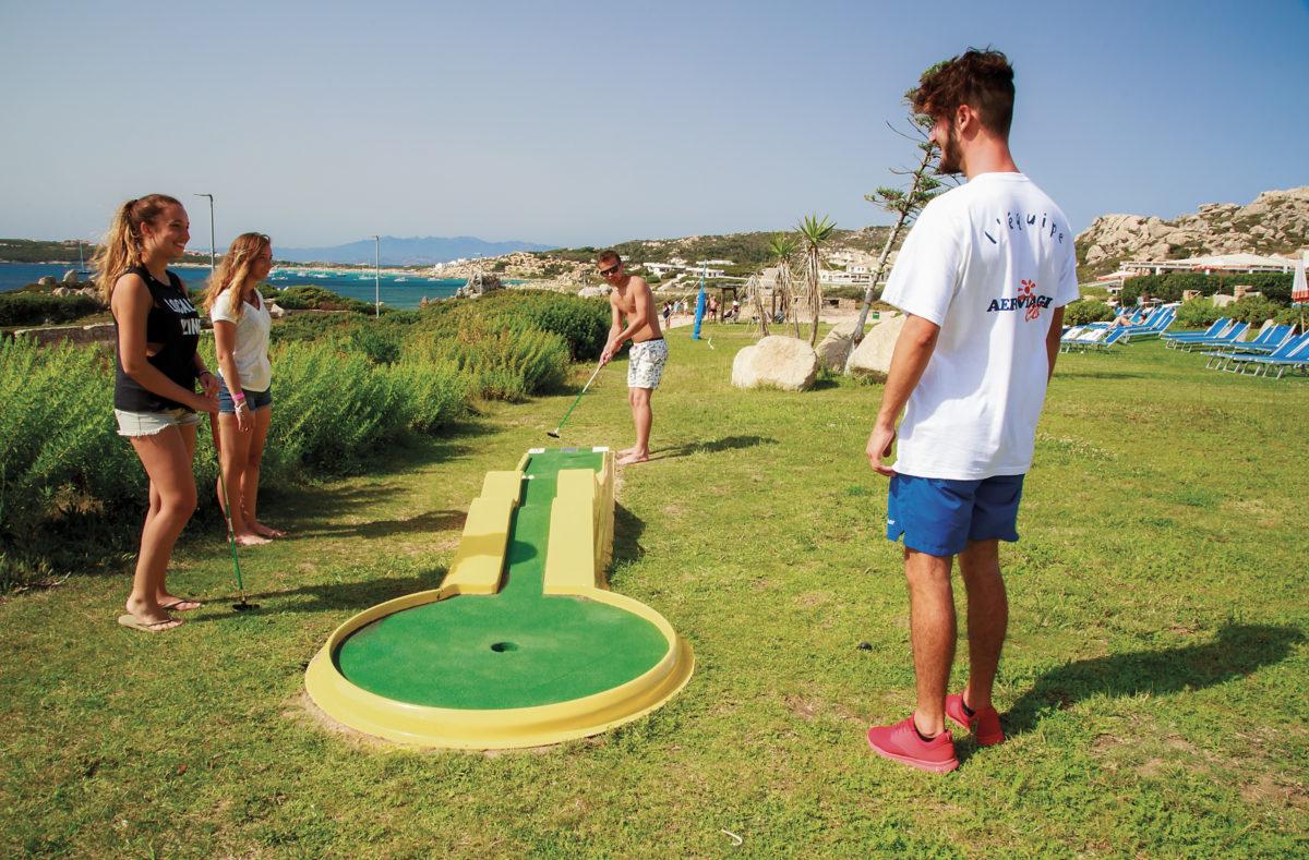 Mini golf Club Cala Blu Sardaigne