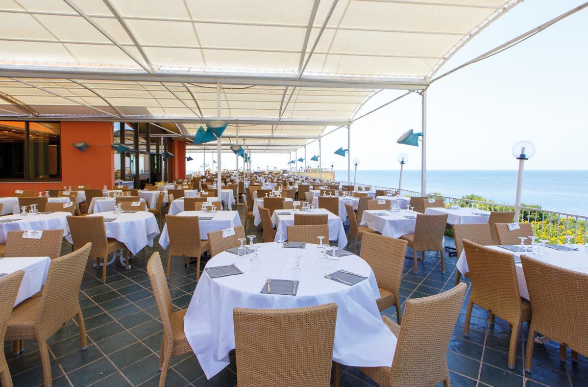 Restaurant Club Cala Regina Sicile