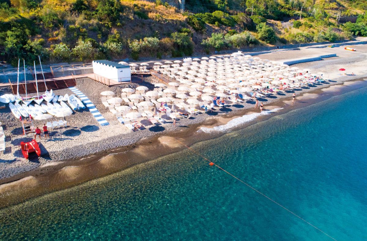 Plage Pollina Resort vacances balnéaires Sicile