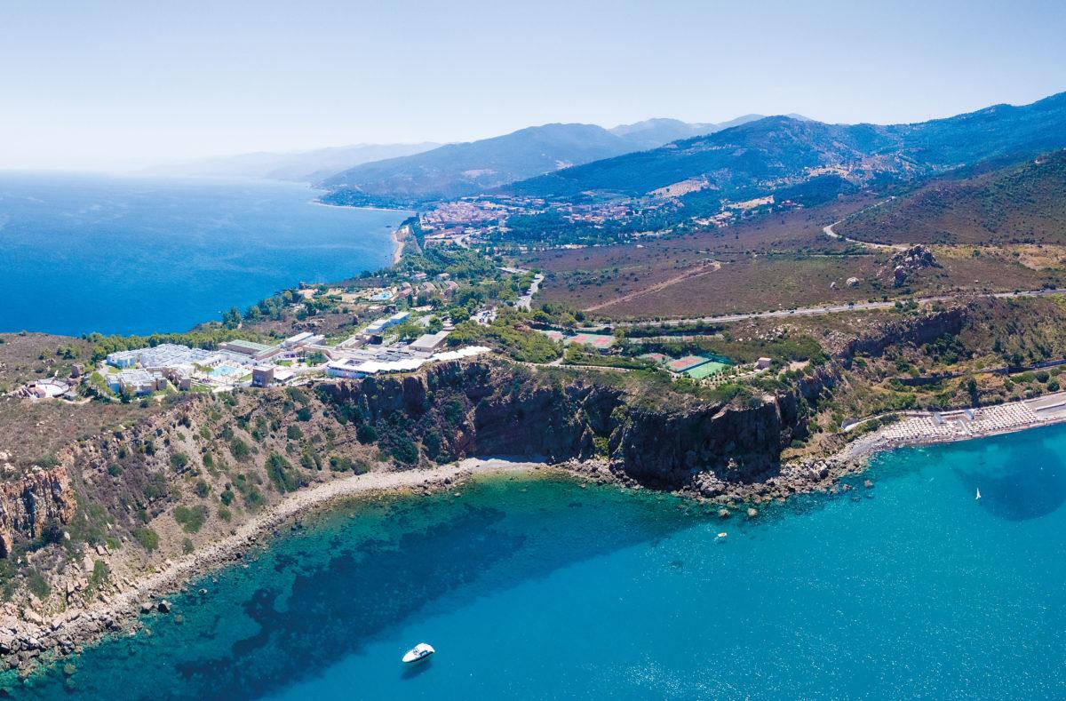 Paysage côtier de Sicile