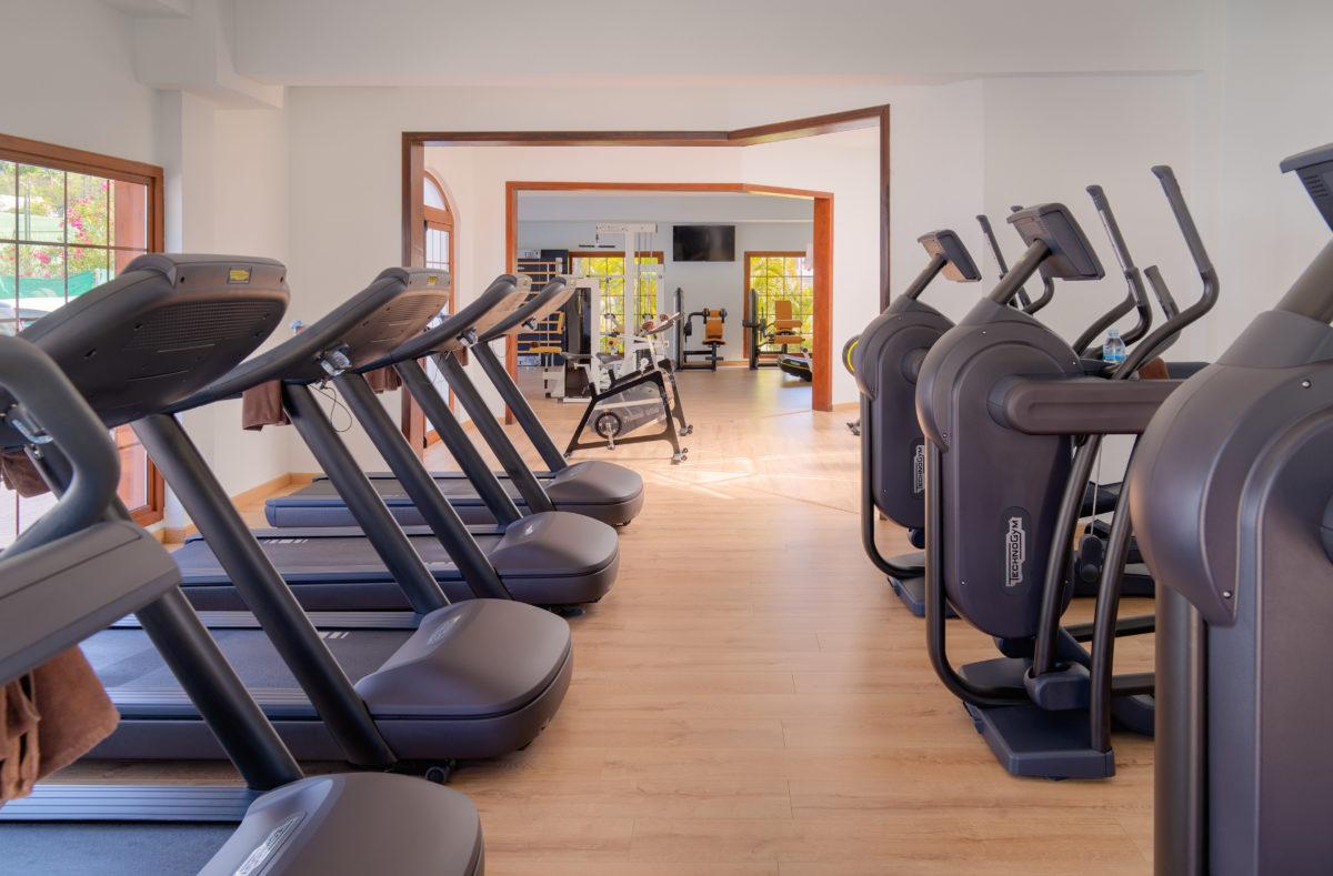 Salle de fitness séjour golfique La Gomera