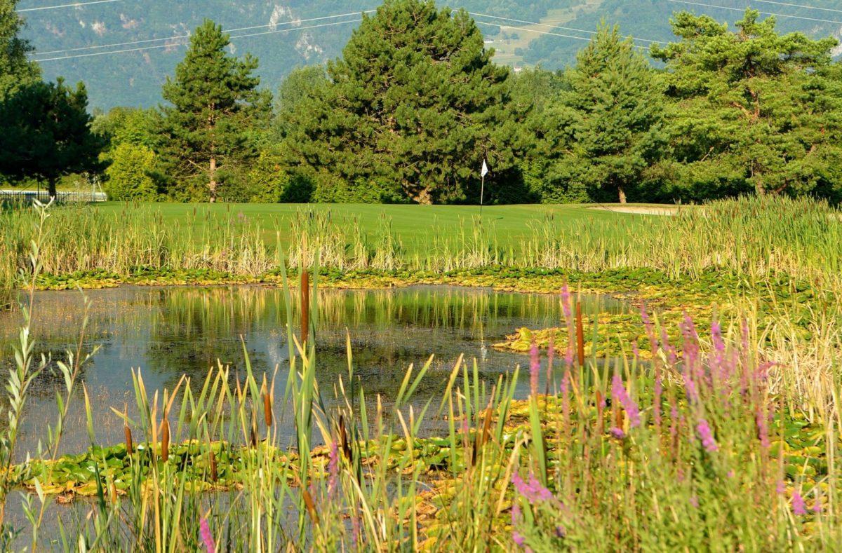 Golfer à Montreux Riviera