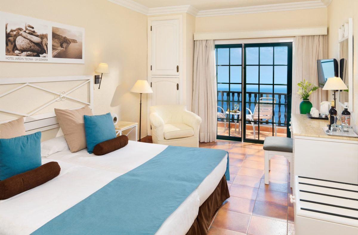 Chambre catégorie supérieur Hotel La Tecina La Gomera