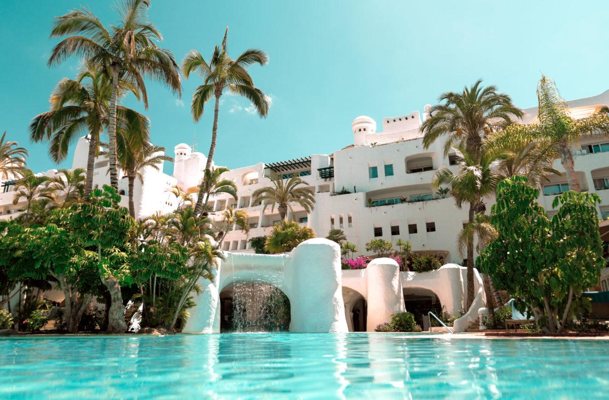 Piscine de l'hôtel Jardin Tropical Tenerife
