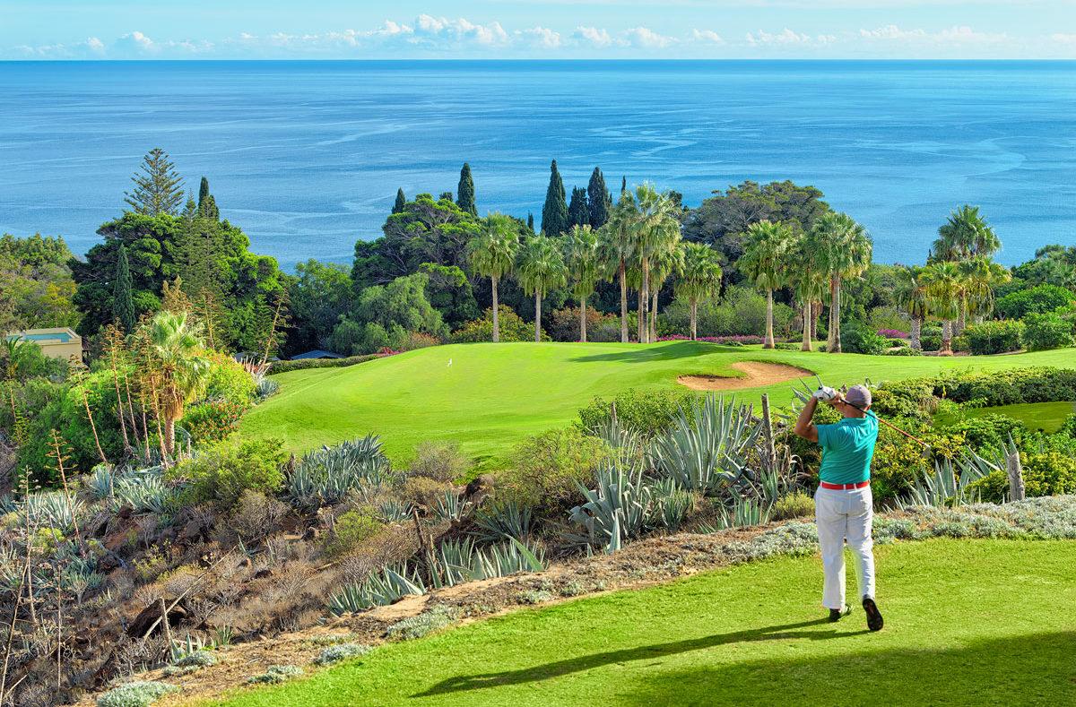 Tecina Golf trou 4 Séjour golfique à La Gomera