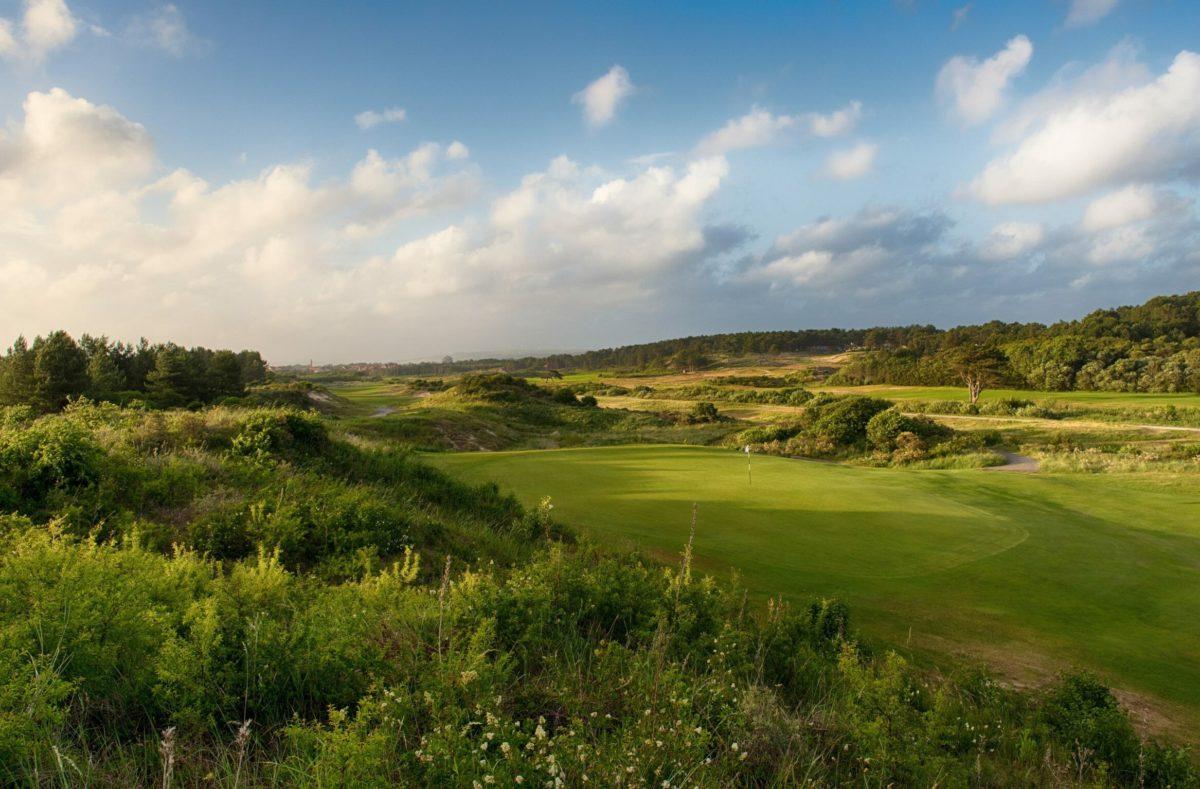 Parcours golf La Mer au Touquet en France