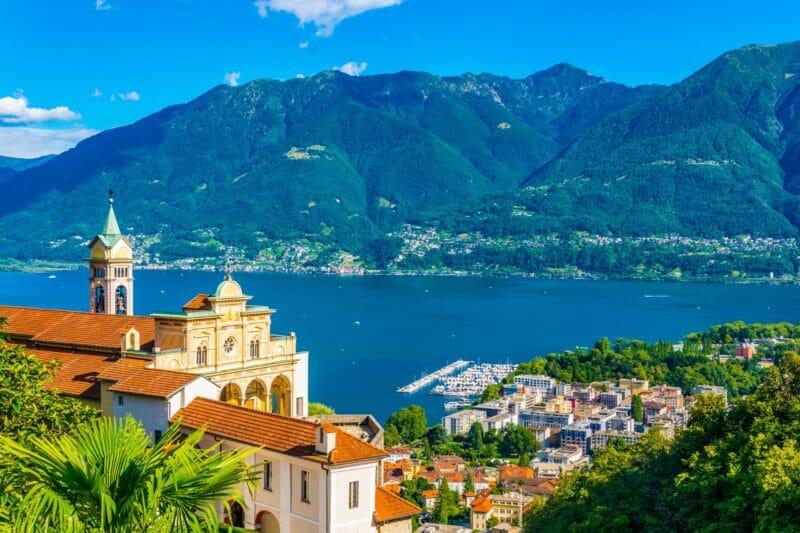 Visiter Locarno et le sanctuaire Madonna del Sasso