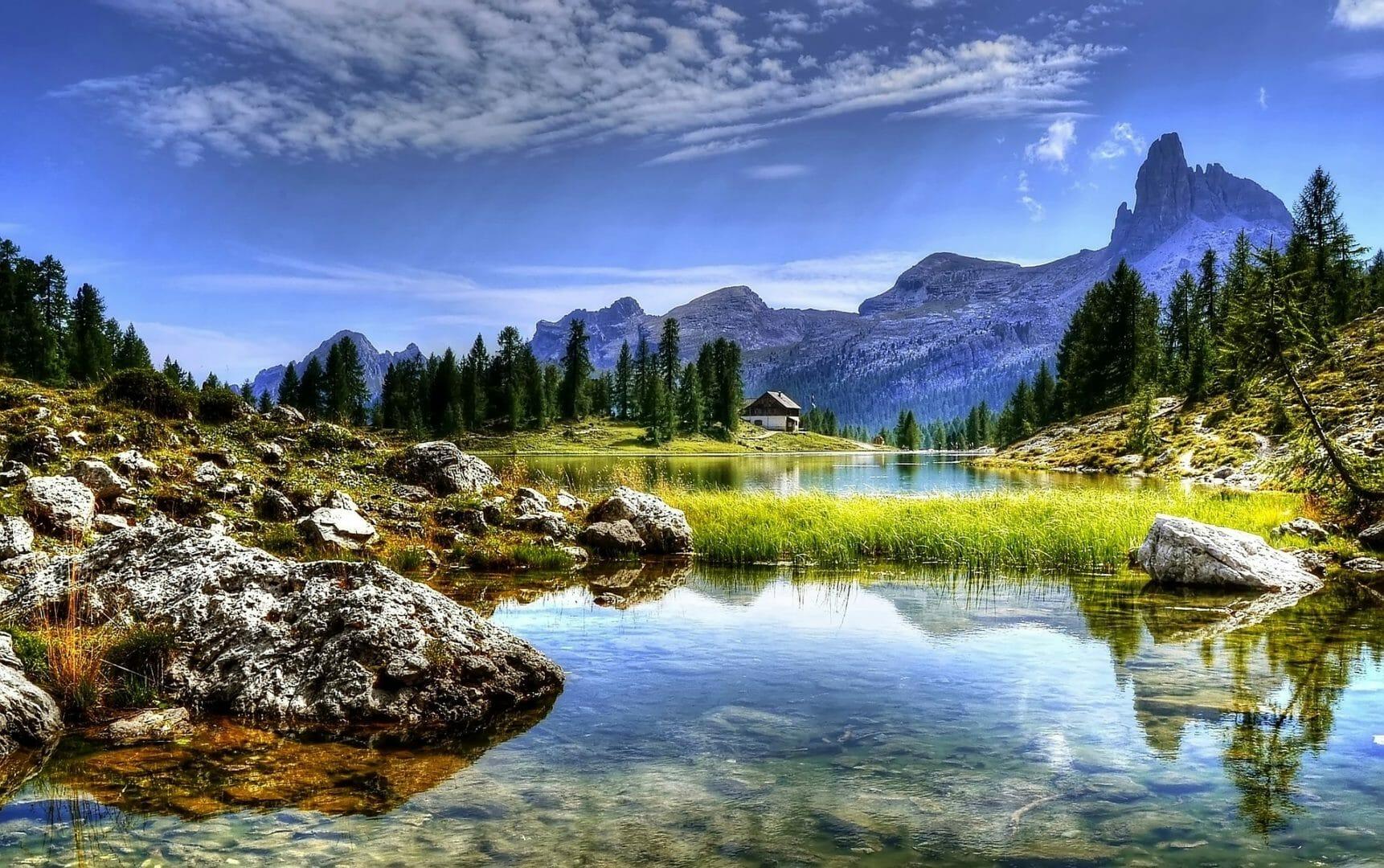 Montagnes Dolomites - Voyager sans avion