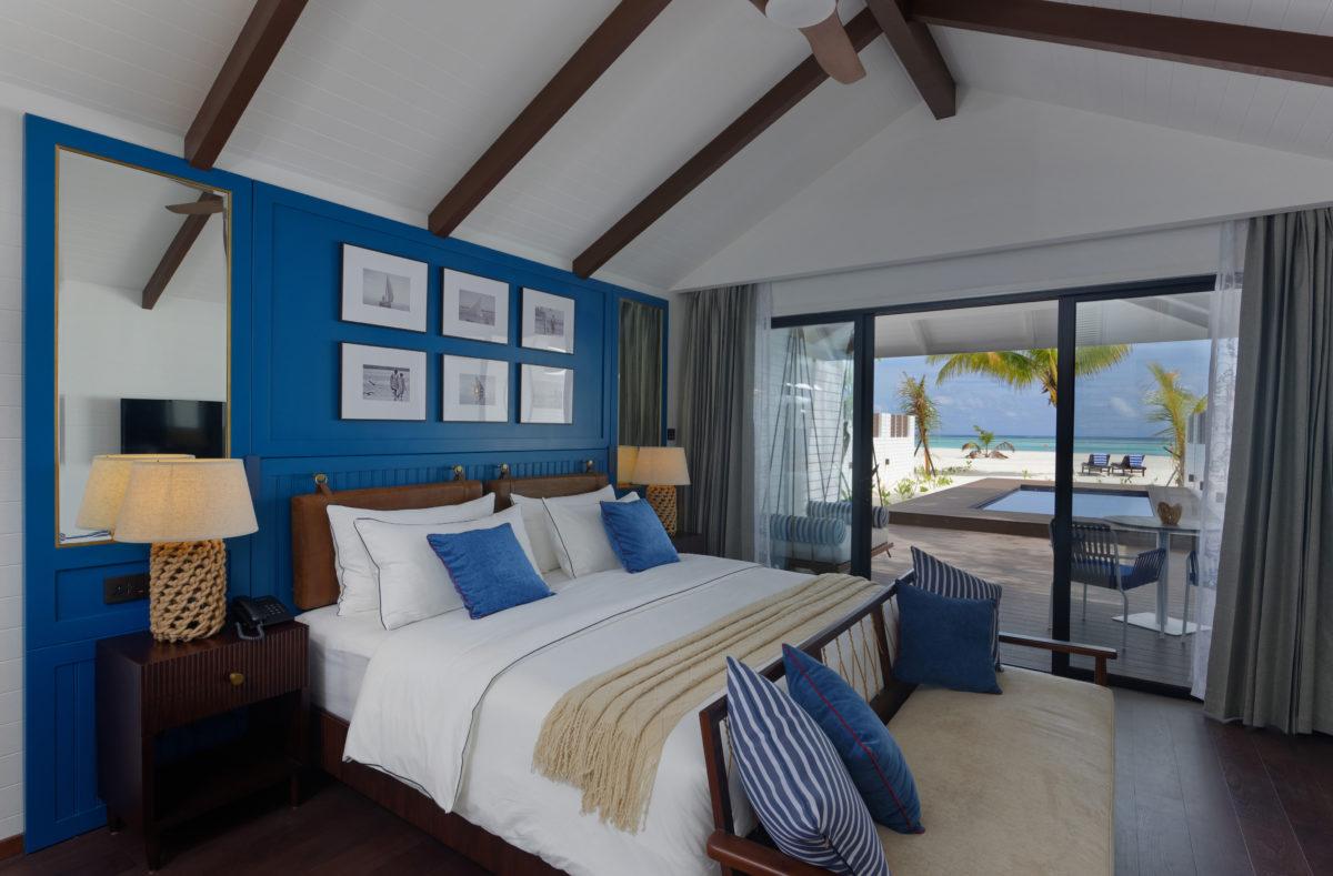 Vue Beach Villa avec piscine Paradise Island Resort Maldives