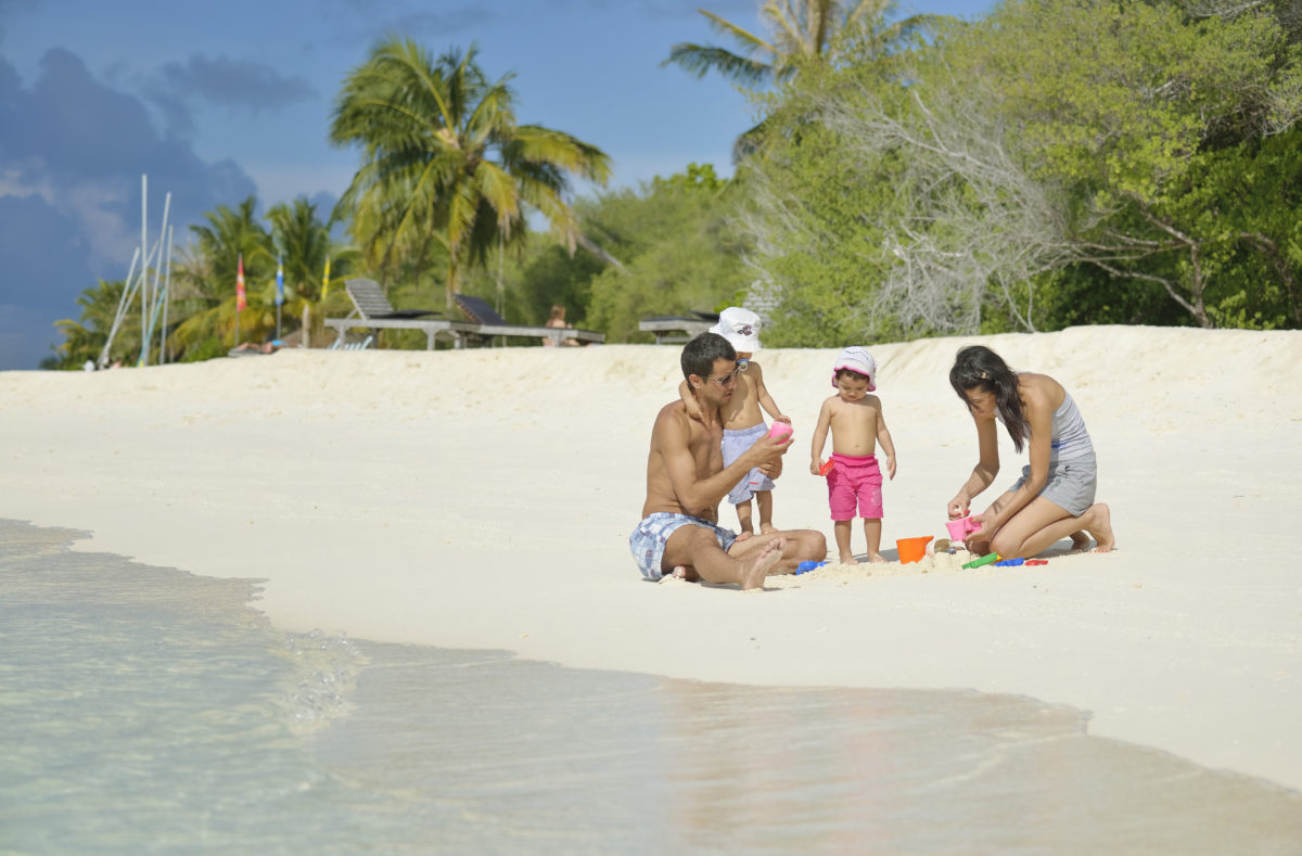Plage en famille Paradise Island Resort Maldives