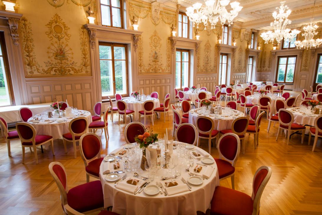 Restaurant du Grand Hôtel des Bains à Lavey