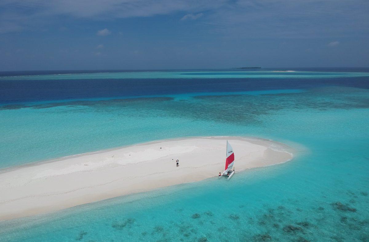 Banc de sable Fihalhohi Island Resort Maldives