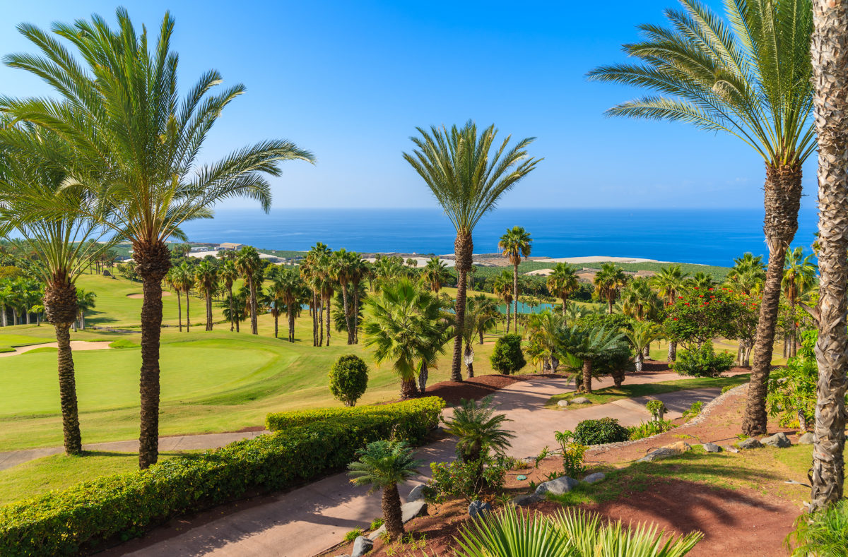 Parcours de golf Tenerife
