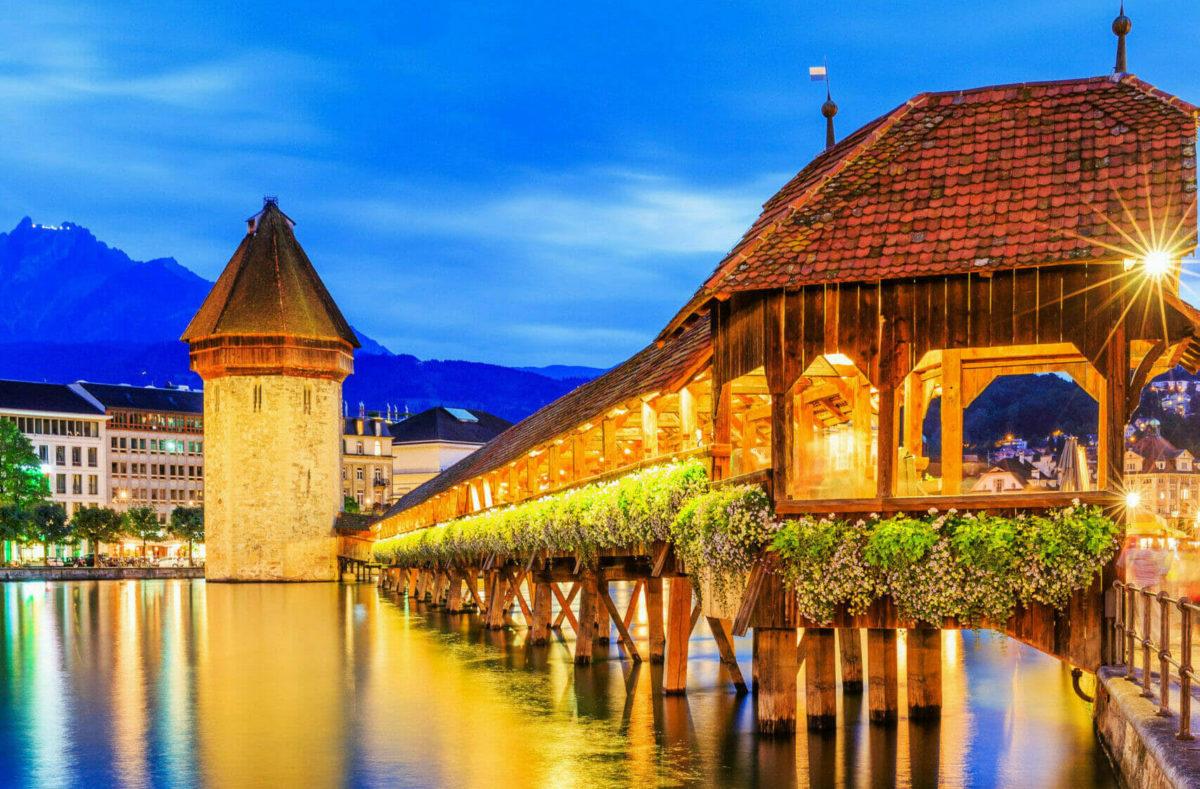 Visiter en groupe Lucerne en Suisse centrale