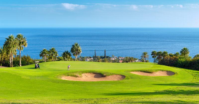 Golf Tecina trou 5 La Gomera