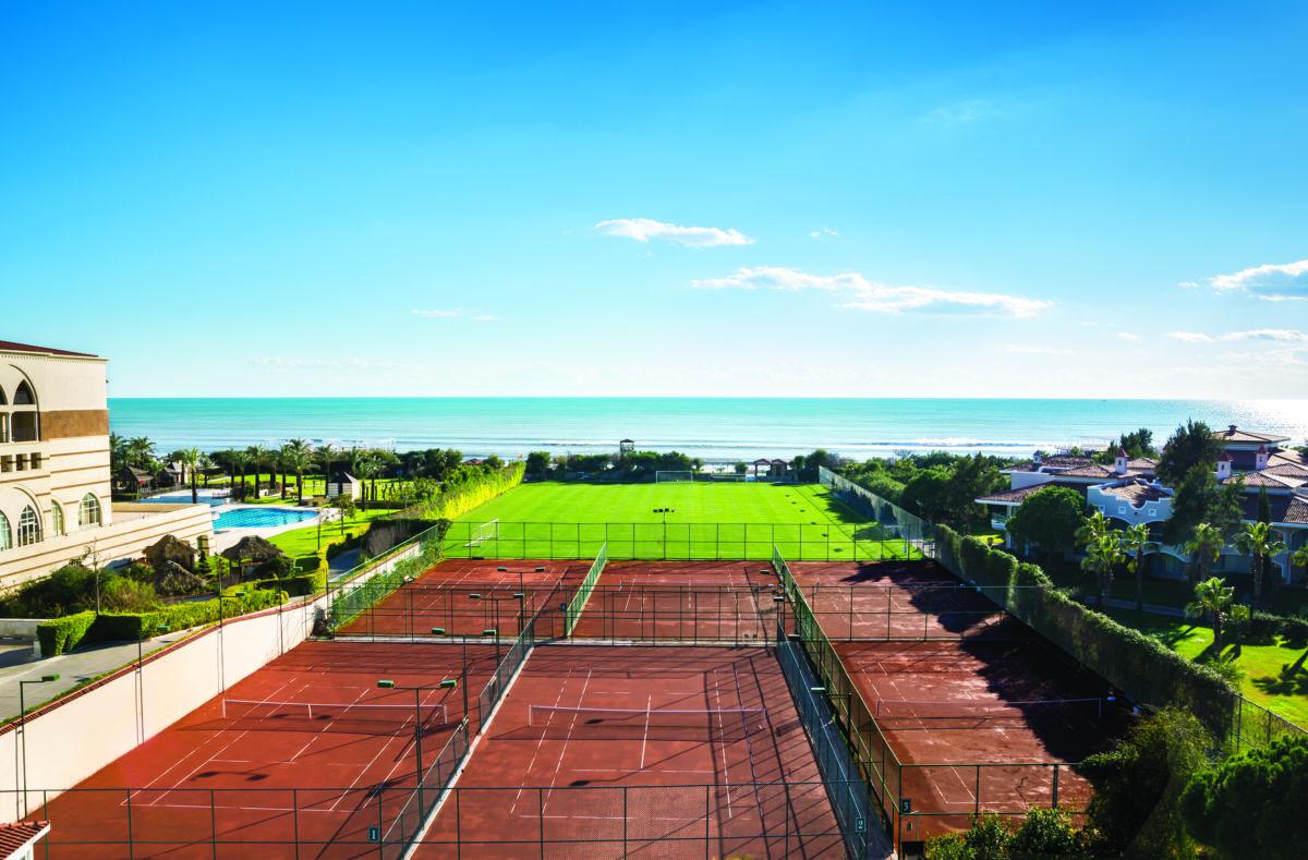 Tennis Hôtel Sirene Belek Turquie