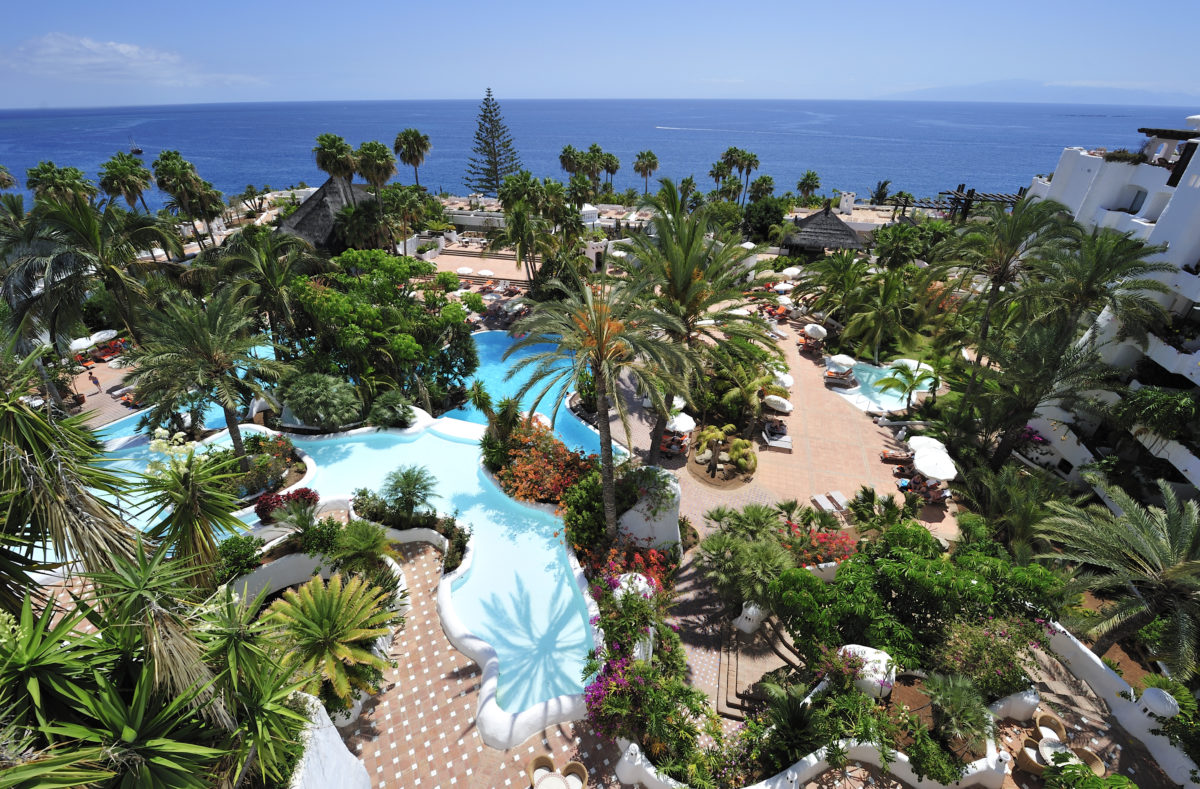 Piscine du Jardin Tropical Tenerife