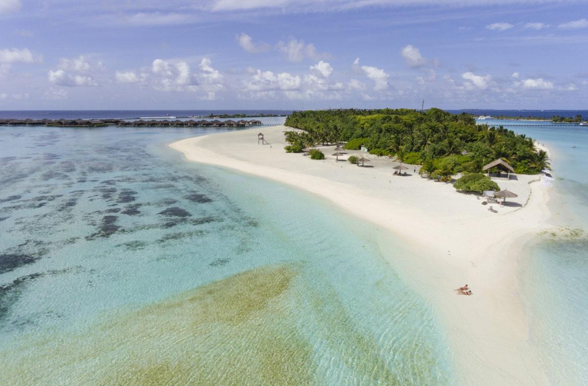 Vue île Paradise Island Resort Maldives