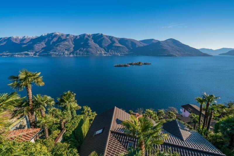 Visiter les Iles de Brissago sur le lac Majeur au Tessin